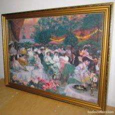 Varios objetos de Arte: LE DINER HOTEL RITZ DE PIERRE GEORGES JEANNIOT PUNTO DE CRUZ. Lote 196146171