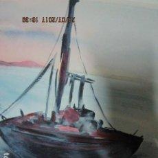 Varios objetos de Arte: PINURA ORIGINAL ACUARELA BARCAZA . Lote 197083381