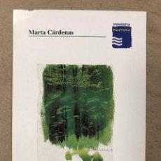 "Arte: MARTA CÁRDENAS ""MARRAZKIAK - DIBUJOS"". TARJETA INVITACIÓN INAUGURACIÓN EXPOSICIÓN (DONOSTIA) 1997.. Lote 197249562"