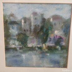 Varios objetos de Arte: PASTEL FIRMA F.BAUTISTA. Lote 197586402