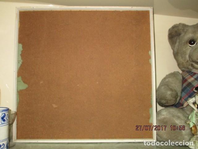 Varios objetos de Arte: PINTURA ANTIGUA CUADRO OLEO VANGUARDISTA FIRMA ILEGIBLE EN EL 75 A ESTUDIAR - Foto 7 - 61872680
