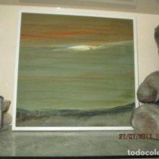 Varios objetos de Arte: PINTURA ANTIGUA CUADRO OLEO VANGUARDISTA FIRMA ILEGIBLE EN EL 75 A ESTUDIAR. Lote 61872680