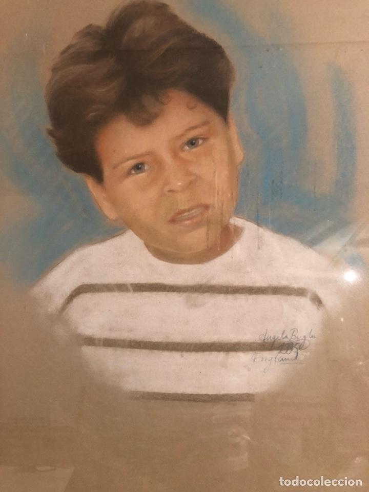 Varios objetos de Arte: Bonito retrato pintado, firmado - Foto 2 - 198091353