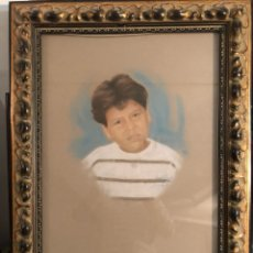 Varios objetos de Arte: BONITO RETRATO PINTADO, FIRMADO. Lote 198091353