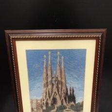 Varios objetos de Arte: CUADRO DE PUNTO FINO. Lote 198156541