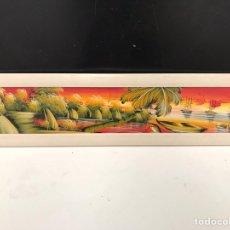 Varios objetos de Arte: CUADRO PINTADO A MANO. Lote 198212765