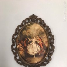 Varios objetos de Arte: CUADRO DE ÉPOCA DE TELA. Lote 198368536