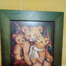 Varios objetos de Arte: BONITO CUADRO INFANTIL-LAMINA ENMARCADA. Lote 199306060