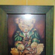Varios objetos de Arte: BONITO CUADRO INFANTIL-LAMINA ENMARCADA. Lote 199306145