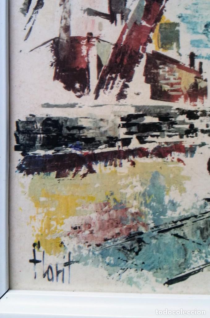 Varios objetos de Arte: CUADRO FLORIT - Foto 2 - 199692440
