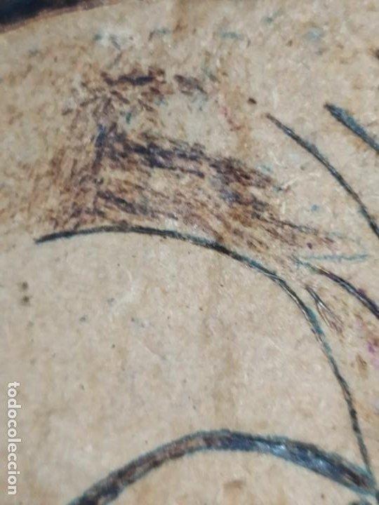 Varios objetos de Arte: PIROGRABADO PIROGRAFÍA PIN UP POP ART MADERA CONGLOMERADA DIBUJOS CHICAS DOS CARAS GRAFITII - Foto 24 - 199783355