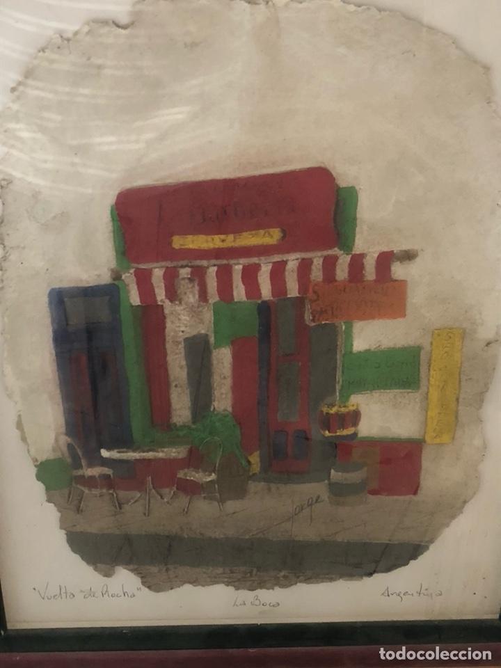 Varios objetos de Arte: Bonito cuadro echo sobre piel de vaca, motivos argentinos - Foto 2 - 199800750