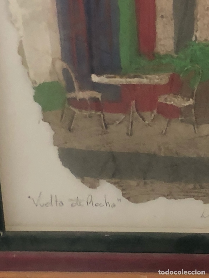 Varios objetos de Arte: Bonito cuadro echo sobre piel de vaca, motivos argentinos - Foto 3 - 199800750