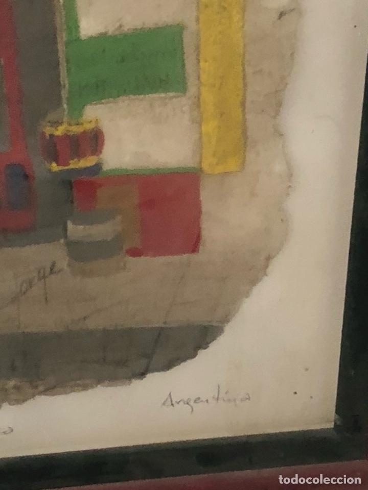 Varios objetos de Arte: Bonito cuadro echo sobre piel de vaca, motivos argentinos - Foto 5 - 199800750