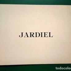Varios objetos de Arte: JOSÉ PAREDES JARDIEL (MADRID 1928). TEXTO 'MANUEL VICENT. GALERÍA EL COLECCIONISTA, MADRID, 1984. Lote 200069942