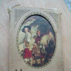 Varios objetos de Arte: 48 POSTALES DE LUJO DEL MUSEE DU LOUVRE EDITADAS POR LAFINA PARIS CON LOS BORDES EN ORO EN SU CAJA O. Lote 200259110