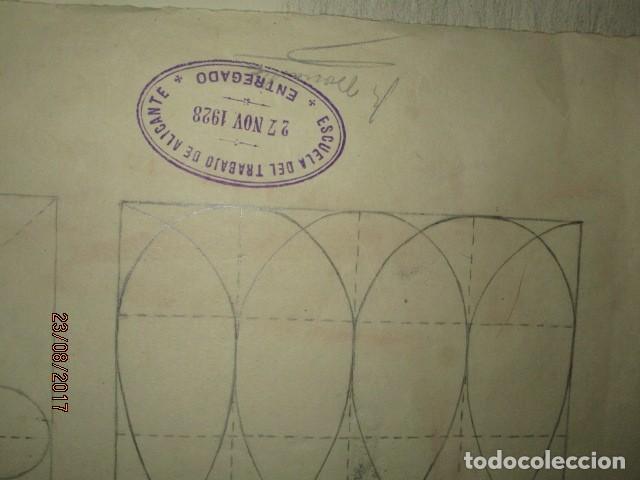 Varios objetos de Arte: ANTIGUA CARPETA CON 65 DIBUJOS ANTIGUA ACADEMIA O TALLER DE ARTE escuela trabajo de ALICANTE - Foto 28 - 176645809