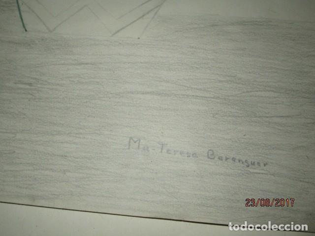 Varios objetos de Arte: ANTIGUA CARPETA CON 65 DIBUJOS ANTIGUA ACADEMIA O TALLER DE ARTE escuela trabajo de ALICANTE - Foto 30 - 176645809