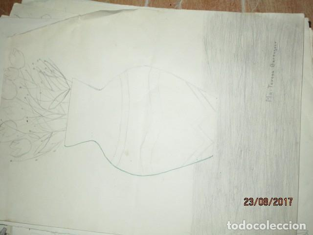 Varios objetos de Arte: ANTIGUA CARPETA CON 65 DIBUJOS ANTIGUA ACADEMIA O TALLER DE ARTE escuela trabajo de ALICANTE - Foto 31 - 176645809