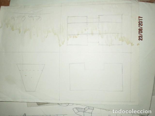 Varios objetos de Arte: ANTIGUA CARPETA CON 65 DIBUJOS ANTIGUA ACADEMIA O TALLER DE ARTE escuela trabajo de ALICANTE - Foto 35 - 176645809