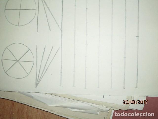 Varios objetos de Arte: ANTIGUA CARPETA CON 65 DIBUJOS ANTIGUA ACADEMIA O TALLER DE ARTE escuela trabajo de ALICANTE - Foto 51 - 176645809