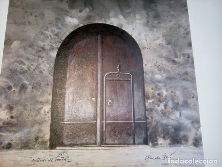 Varios objetos de Arte: * VICENÇ HUEDO.OBRA ORIGINAL. 28,5 CM.X 26,5 CM. (Rf: GCQ/*) - Foto 2 - 200831341