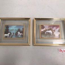 Varios objetos de Arte: LOTE DE CUADROS. Lote 201124332