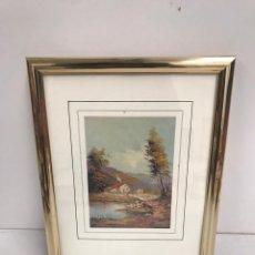 Varios objetos de Arte: CUADRO LAMINA. Lote 201124767