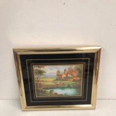 Varios objetos de Arte: CUADRO LAMINA. Lote 201124881