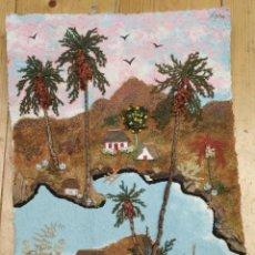 Varios objetos de Arte: PAISAJES EN PASTA DE PAPEL. Lote 202322106