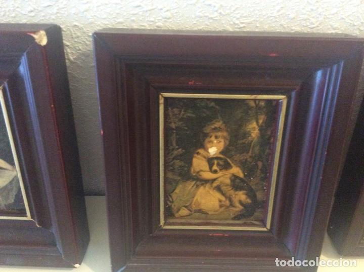 Varios objetos de Arte: Cuadros antiguos con señales de uso - Foto 4 - 203133630