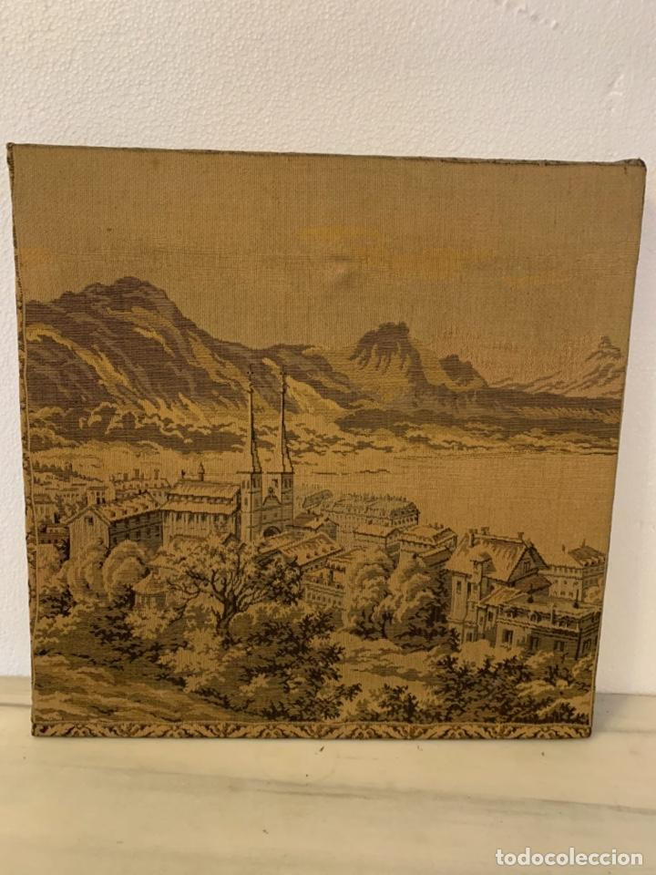 Varios objetos de Arte: ANTIGUA PAREJA DE TAPICES - Foto 2 - 203501648