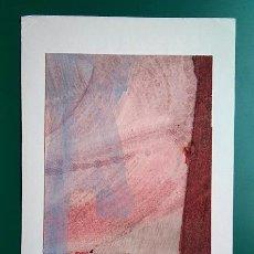 Varios objetos de Arte: SALVADOR VICTORIA, 1968. TÉCNICA MIXTA SOBRE CARTULINA-FELICITACIÓN, 21 X 14 CM.. Lote 203502775