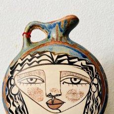 Varios objetos de Arte: LENTICULAR VERTICAL JARRA CERAMICA. Lote 203926515