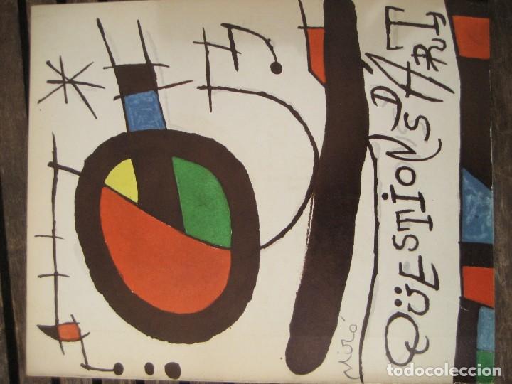 REVISTA CATALANA QÜESTIONS D'ART - ARTE - MIRÓ - TEATRE I ESCOLA - GIRALT MIRACLE GUINOVART Nº 17 (Arte - Varios Objetos de Arte)
