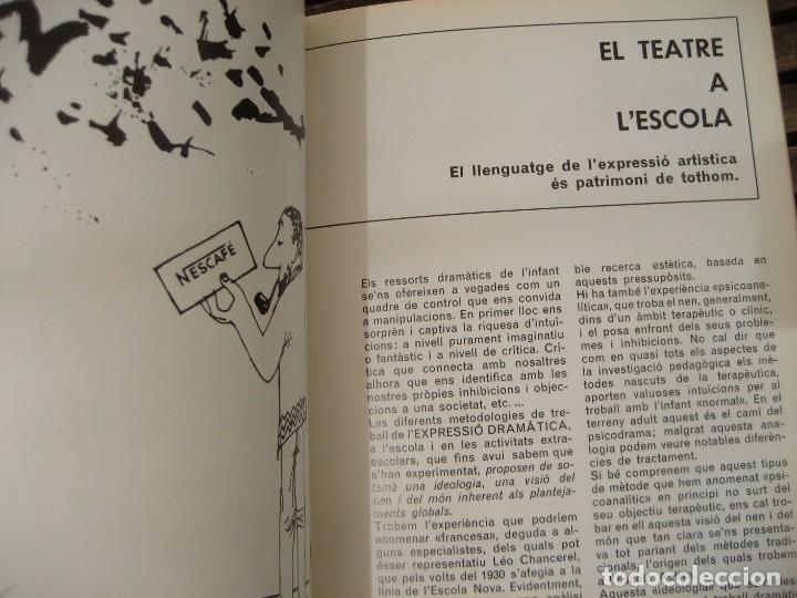 Varios objetos de Arte: revista catalana qüestions dart - arte - miró - teatre i escola - giralt miracle guinovart nº 17 - Foto 3 - 204000395