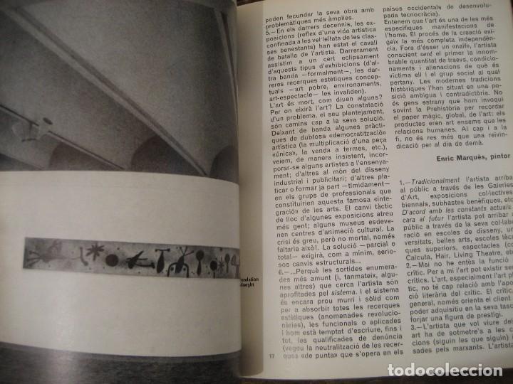 Varios objetos de Arte: revista catalana qüestions dart - arte - miró - teatre i escola - giralt miracle guinovart nº 17 - Foto 4 - 204000395