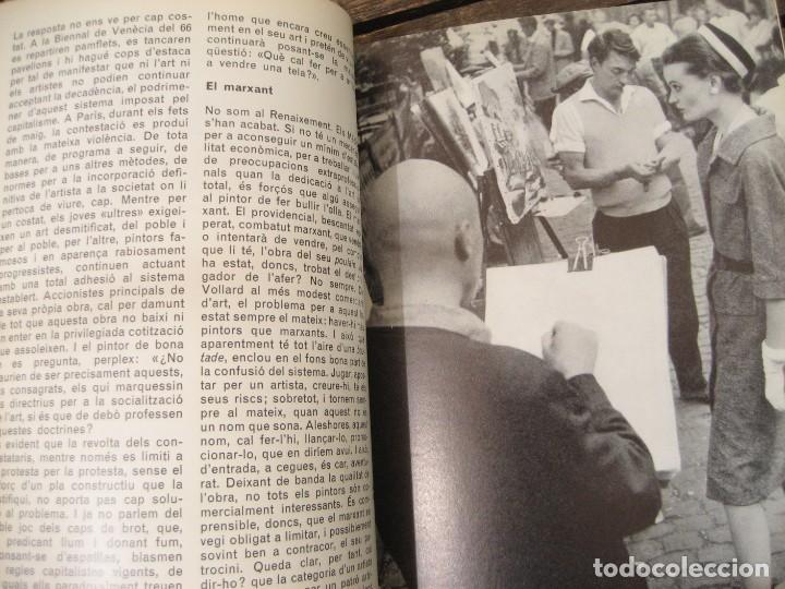 Varios objetos de Arte: revista catalana qüestions dart - arte - miró - teatre i escola - giralt miracle guinovart nº 17 - Foto 5 - 204000395