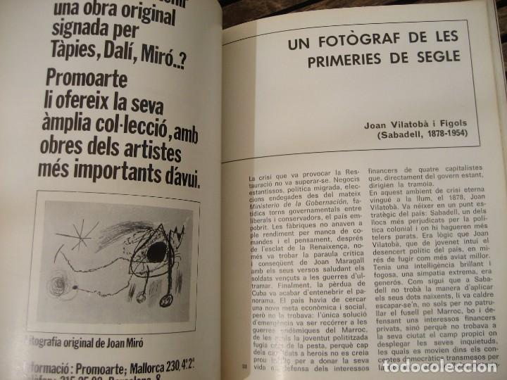 Varios objetos de Arte: revista catalana qüestions dart - arte nº 27 1973 fotografia a catalunya miserachs - vilatoba - Foto 4 - 204001350