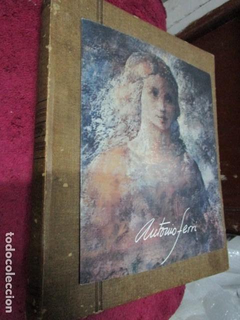 ANTIGUO ALBUM 400 FOTOS ORIGINALES INEDITAS PINTOR ANTONIO FERRI PINTURA VALENCIANA ANTIGUA (Arte - Varios Objetos de Arte)