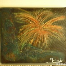 Varios objetos de Arte: PINTURA TECNICA MIXTA DE G. MONZO LANDEIRA. Lote 205179832