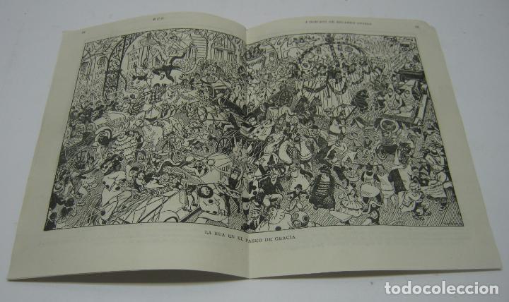 LEGAJO DE REVISTA 1950 - 8 DIBUJOS DE RICARDO OPISSO (Arte - Varios Objetos de Arte)