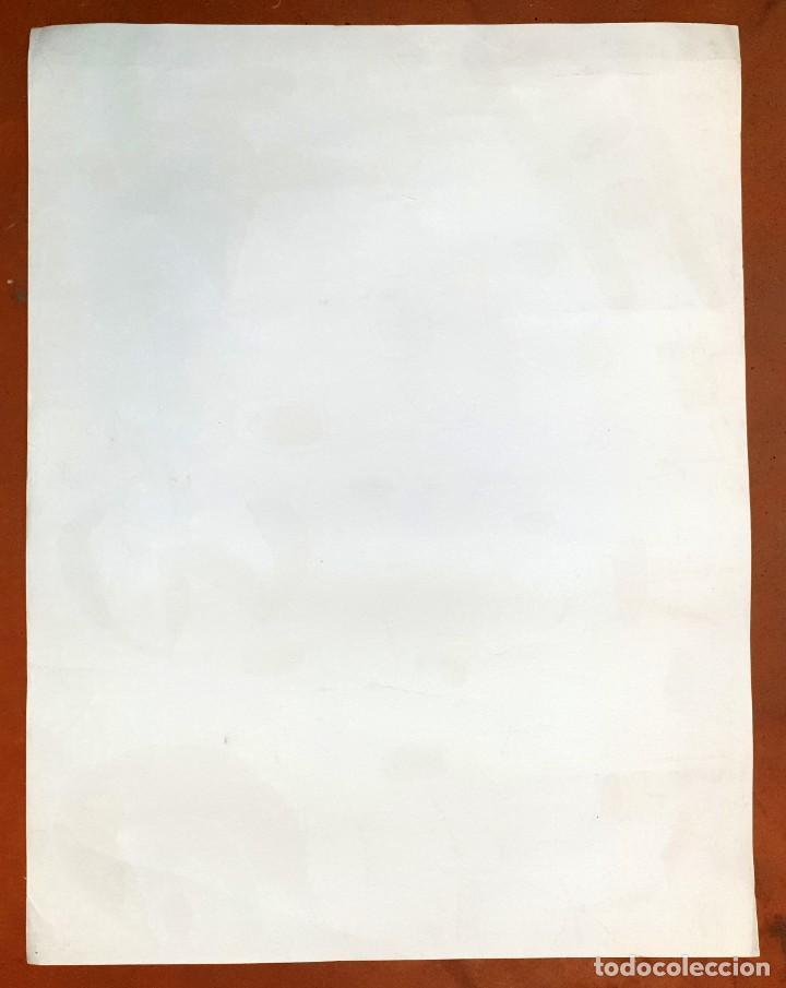 """Varios objetos de Arte: CARTEL LITOGRAFICO DE JOAN MIRO """"1ER DE MAIG 1968"""", IMPRENTA CASAMAJÓ, BARCELONA 1968 - Foto 7 - 205458497"""