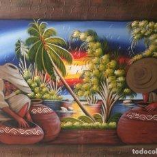 Varios objetos de Arte: CUADRO MEXICANO. Lote 205831241