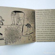 Varios objetos de Arte: JORDI SAMSÓ I FAMILIA · TRÍPTIC NADAL 1968. RECULL DE LA DECLARACIÓ UNIVERSAL DELS DRETS DE L'HOME. Lote 206270116