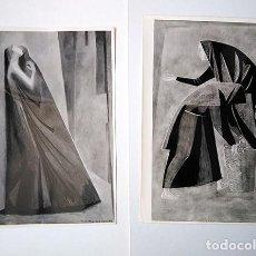 Varios objetos de Arte: LOTE DE 4 FOTOGRAFÍAS DE OBRAS DE HIPÓLITO HIDALGO DE CAVIEDES (MADRID 1902-1994). COPIAS VINTAGE. Lote 206980087