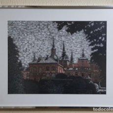 Varios objetos de Arte: CUADRO FIRMADO POR MILA PINTURA PIXELADA. Lote 207103515