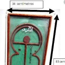 Varios objetos de Arte: HOMENAJE AL INDALO Y A LA ALCAZABA DE ALMERIA. JJ SANTOS RIVAS. 1989. Lote 207179761