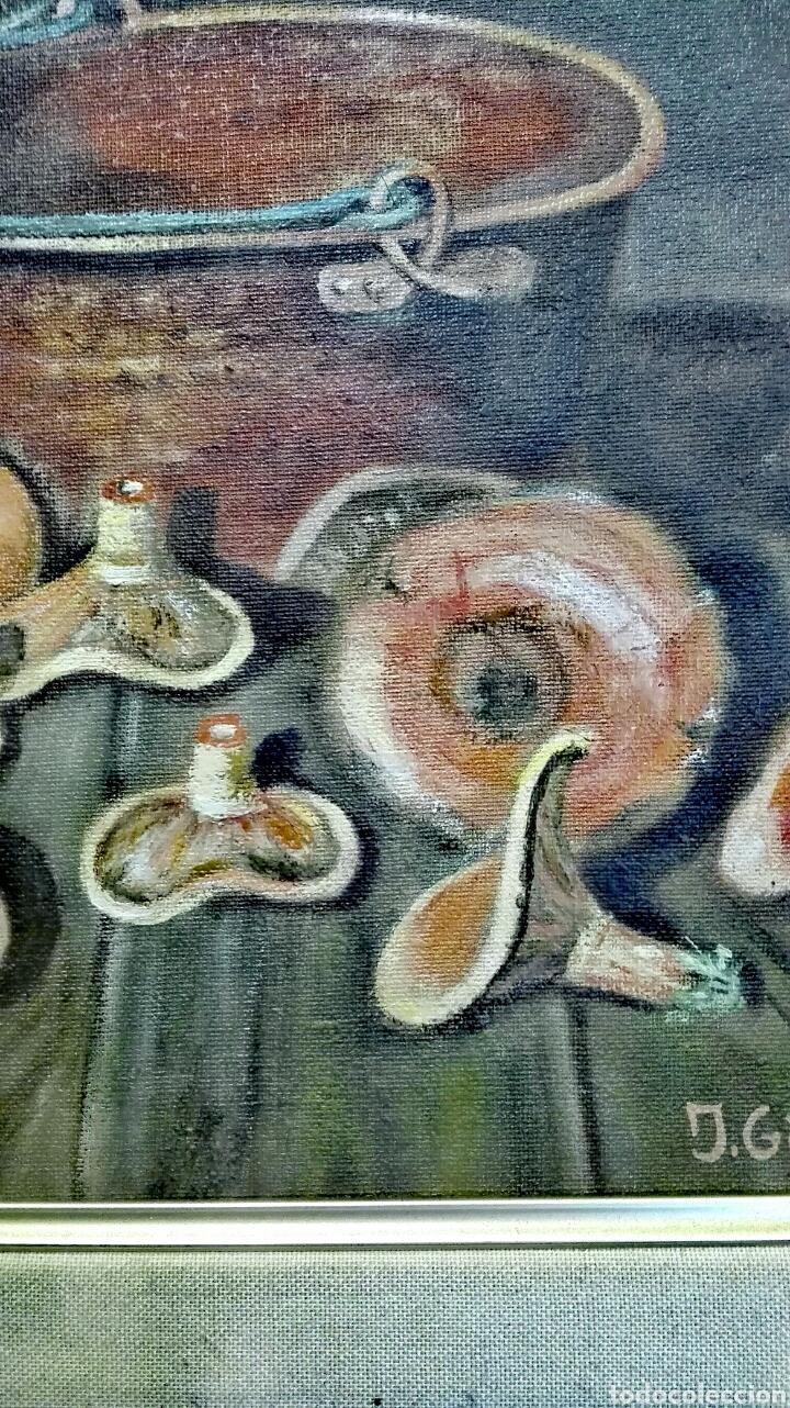 Varios objetos de Arte: Cuadro Rovellons pintado sobre tela - Foto 2 - 207422478