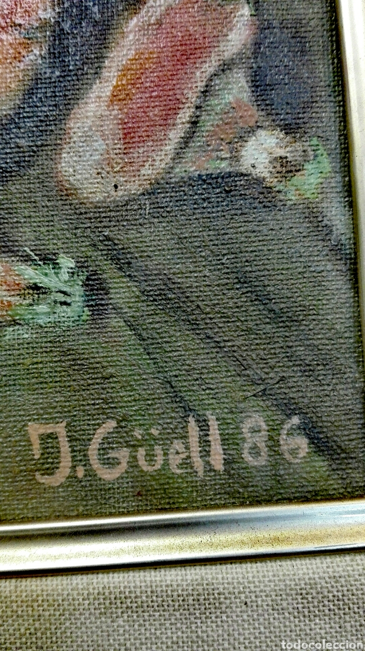 Varios objetos de Arte: Cuadro Rovellons pintado sobre tela - Foto 3 - 207422478